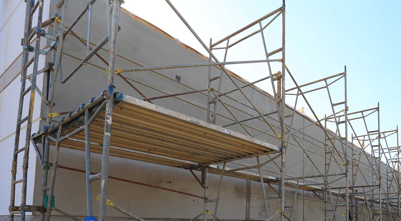 Exterior: EIFS (Exterior Insulation And Finishing System)